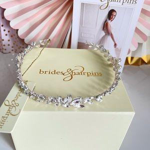 brides&hairpins Swarovski Crystal Hairpiece